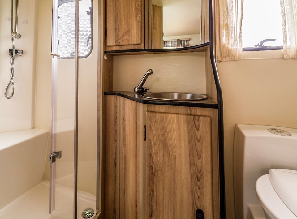 Infinity Luxury Caravan Interior