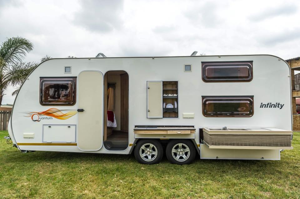 Quantum Leisure Infinty Luxury Caravan 4 Sleeper